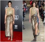 Gal Gadot In Altuzarra At  'Justice League' LA Premiere