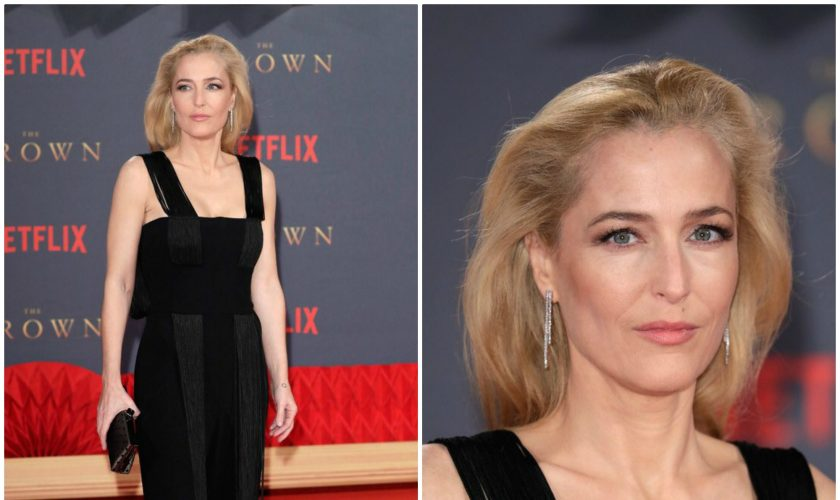 gillian-anderson-in-galvan-the-crown-season-2-london-premiere