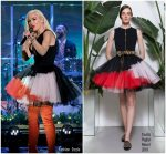 Gwen Stefani In Fausto Puglisi – Tonight Show Starring Jimmy Fallon
