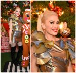 "Gwen Stefani  In Celia Kritharioti  – ""You Make It Feel Like Christmas "" Album Signning"
