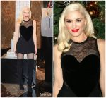 Gwen Stefani In   Elie Saab – Empire State Building Lighting Ceremony in New York