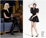 Gwen Stefani In Ronald Van Der Kemp @ Tonight Show Starring Jimmy Fallon
