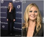 Gwyneth Paltrow In Tom Ford At 2017 Baby2Baby Gala