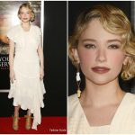 Haley Bennett In Chloe – 'Thank You For Your Service' LA Premiere