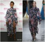 Issa Rae In Prabal Gurung  At  Planned Parenthood Advocacy Project