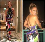 "Jennifer Lopez In Versace "" In Dubai"