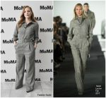 Jessica Chastain in Ralph Lauren-  MoMA's Contenders NY  Screening of 'Molly's Game'