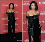 Kat Graham  In Monse  -SAG-AFTRA Foundation Patron Of The Artists Awards