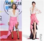 Kat Graham In Ronald van der Kemp Couture – 2017 American Music Awards
