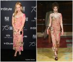 Kate Bosworth In Antonio Marras – HFPA and Instyle Celebration of the 2018 Golden Globe Awards