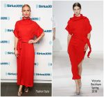 Kate Bosworth In Victoria Beckham  At  SiriusXM