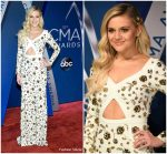 Kelsea Ballerini In Michael Kors Collection At  2017 CMA Awards