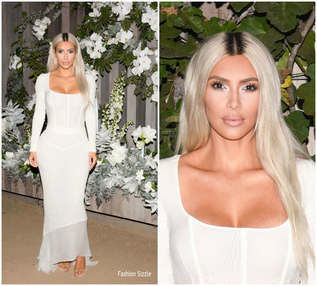 Kkw Fragrance Oud >> Kim Kardashian West in Dolce & Gabbana @ Kim Kardashian fragrance LA launch - Fashionsizzle