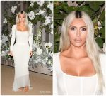 Kim Kardashian West in Dolce & Gabbana @  Kim Kardashian fragrance LA  launch