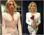 Lady Gaga In Brandon Maxwell –  Hurricane Harvey First Responders at One America Concert