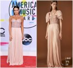 Lea Michele  In J Mendel Spring – 2017 American Music Awards