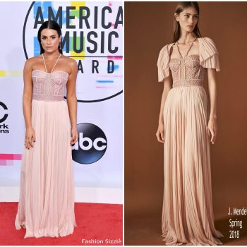 lea-michele-in-j-mendel-2017- american-music-awards