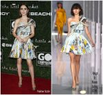 Lily Collins In Ralph & Russo – 2017 GO Campaign Gala