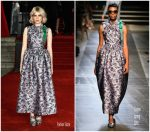 Lucy Boynton In Erdem – 'Murder On The Orient Express' World Premiere