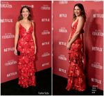 Mandy Moore  In Johanna Ortiz  @ SAG-AFTRA Foundation Patron of the Artists Awards