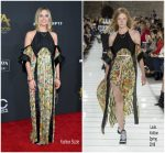 Margot Robbie In Louis Vuitton  At  2017 Hollywood Film Awards