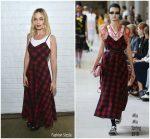 Margot Robbie In Miu Miu At  Indie Contenders Roundtable