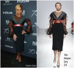 Mary J Blige In Bibhu Mohapatra – HFPA and Instyle Celebration of the 2018 Golden Globe Awards