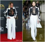 Mary J. Blige In Zuhair Murad Couture  At 2017 Hollywood Film Awards