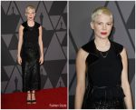Michelle Williams  In Louis Vuitton –  Academy Of Motion Picture Arts And Sciences' 9th Annual Governors Awards
