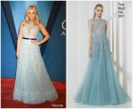 Miranda Lambert In Tony Ward  At  2017 CMA Awards