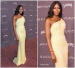 Naomi Campbell In Atelier Versace  At  2017 LACMA Art + Film Gala