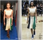 Naomie Harris In J.W. Anderson – British Vogue's December Issue Dinner Party