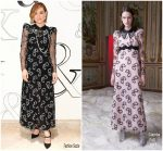 Olivia Wilde In Giamba  At Tiffany & Co. Home & Accessories Opening Party