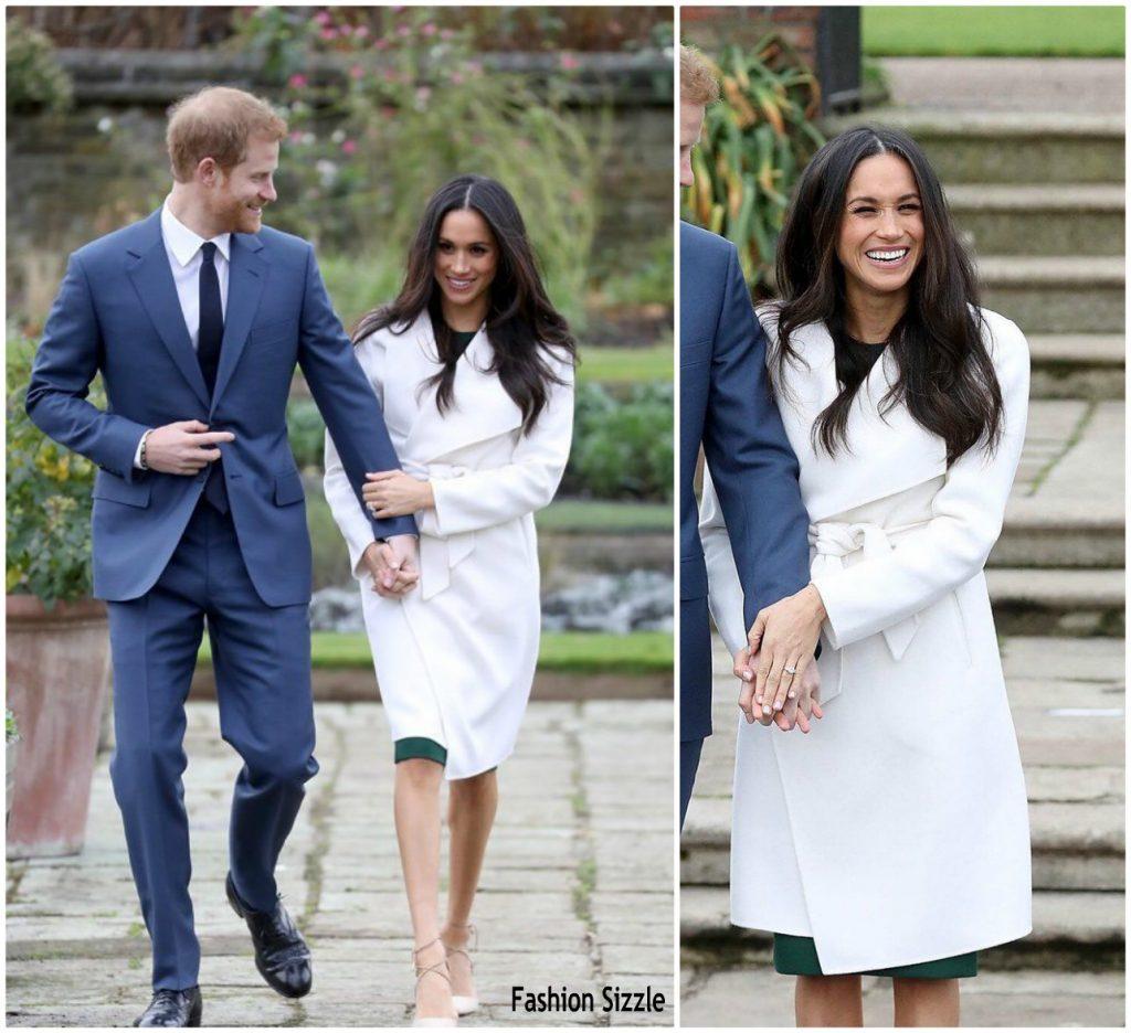 Prince Harry & Meghan Markle Announce Their Engagement