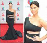 Roselyn Sanchez In Willfredo Gerardo  At  2017 Latin Grammy Awards