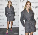 Rosie Huntington-Whiteley In Attico @ The Harper's Bazaar Power List Of 150 Visionary Women