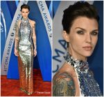 Ruby Rose In August Getty Atelier  At 2017 CMA Awards