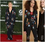 Sofia Boutella In Sonia Rykiel  At  Go Campaign Gala