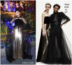 Sofia Carson In Monique Lhuillier  @ 2017 Saks Fifth Avenue & Disney 'Once Upon A Holiday'