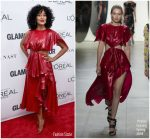 Tracee Ellis Ross In Prabal Gurung  – 2017 Glamour Women of the Year Awards