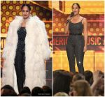 Tracee Ellis Ross  In Shrimpton Couture @  2017   American Music Awards