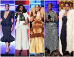 Tracee Ellis Ross  Outfits  Hosting – 2017 American Music Awards