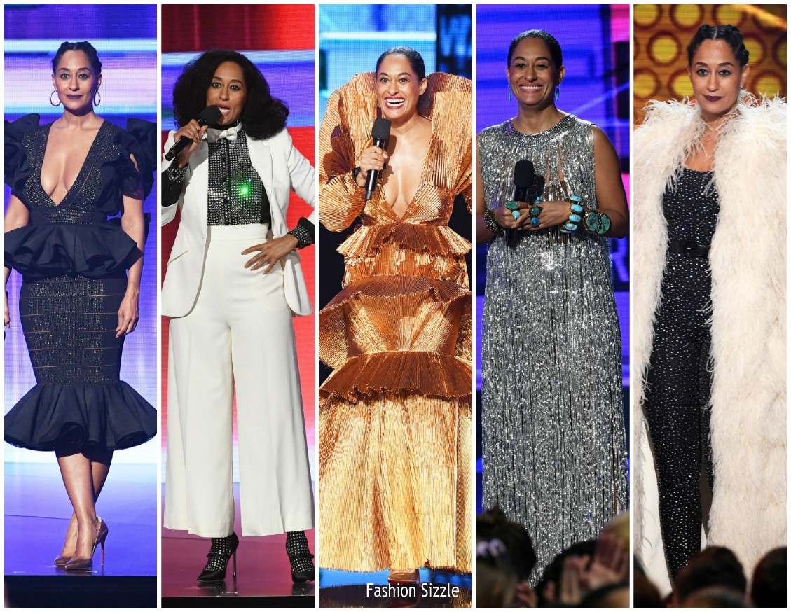 Tracee ellis ross outfits hosting 2017 american music for Ross craft show 2017