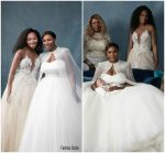 Venus Williams  In  custom Galia Lahav @ Serena Williams Wedding