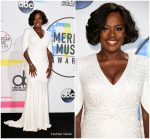 Viola Davis  In Michael Kors  Collection-  2017 American Music Awards