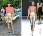 Zendaya Coleman In Teresa Helbig  At  CFDA/Vogue Fashion Fund Show