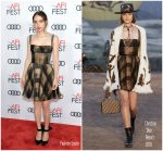 Zoe Kazan in Dior – 'Call Me By Your Name' AFI FEST 2017 Screening