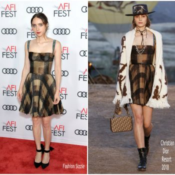 zoe-kazan-in-dior-call-me-by-your-name-afi-fest-2017-screening