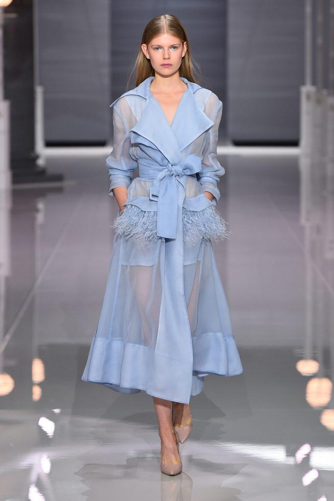 Spring 2018 Runway Fashion Trend Sheer Fashionsizzle