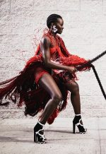 Lupita Nyong'o for Vogue US  photographed by Mikael Jansson